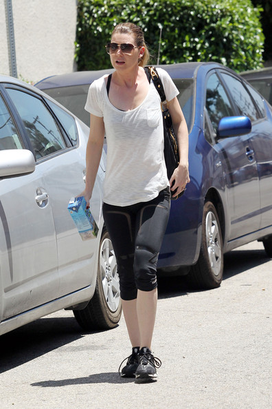 Ellen Pompeo - Ellen Pompeo in Studio City