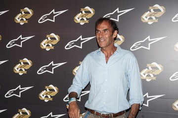 Emanuele Pirro Alpinestars Celebrates 50 Years in Milan