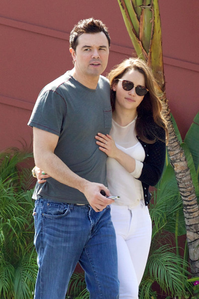 Emilia Clarke Photos Photos Seth Macfarlane And Emilia Clarke Out