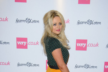 Emily Atack Arrivals at the Fearne Cotton Collection Show