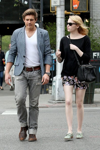 Emma Stone and Friend Out in NYC