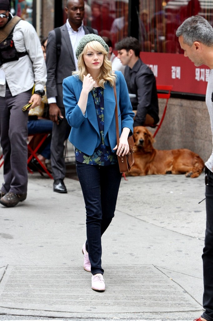 Steal Her Weekend Look: Emma Stone's Day to Night Ensembles