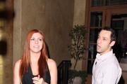 'Summer Camp' stars Erin Cosgrove and Mikey Benzaia out on a dinner date in West Hollywood on July 23, 2013.