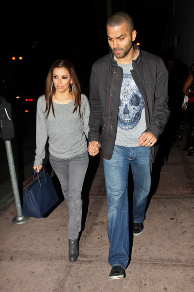 Eva Longoria Pictures Eva Longoria Parker and Tony Parker at Beso -