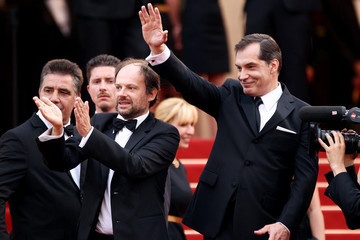 """Denis Podalydes Red Carpet for the """"The Conquest"""" Premiere in Cannes"""