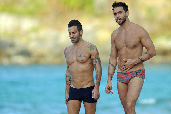 Marc Jacobs Sunbathes With His Ex-Fiance