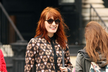 Florence and the Machine Florence Welch Dresses Up in NYC
