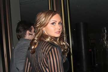 Chanelle Hayes Chanelle Hayes and Greg Burns at Nobu