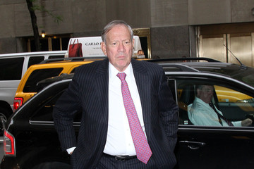 Governor Former Governor George Pataki arrives at his hotel in New York City