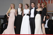 Sofia Coppola, Emma Watson, Claire Julien, Israel Broussard, Taissa Farmiga and Katie Chang attend the 'Jeune & Jolie' premiere during 66th Cannes Film Festival 2013, held at the Palais des Festivals at the Croisette Avenue in Cannes.