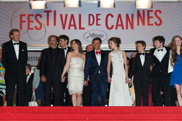 Frederic Pierrot Celebs Leave After the 'Jeune et Jolie' Premiere