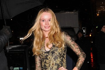 Frida Gustavsson Celebs Arrive at the Victoria's Secret Fashion Show After Party
