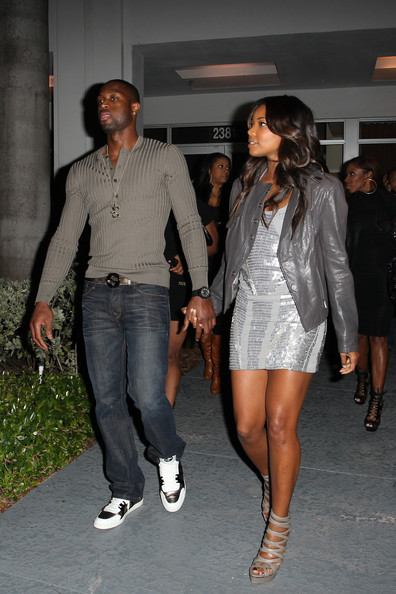 dwyane wade and gabrielle union. Dwayne Wade and Gabrielle