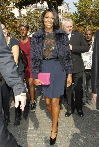Gabrielle Union - PFW: Arrivals at Miu Miu