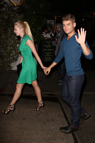 clayton dating Dove cameron admitted that she's in love with her descendants costar,  who is dove cameron dating by: caroline john - published:  live's, garrett clayton.