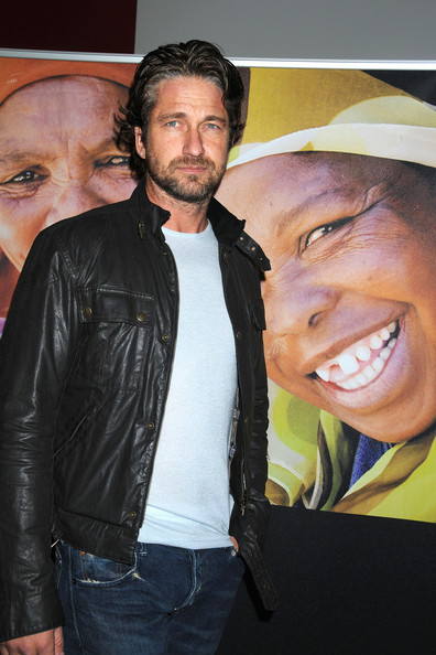 Gerard Butler Gerard Butler at the Global Poverty Project Premieres 1.4 Billion Reasons on DVD at the Musuem of Modern Art in New York.