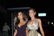 Gorgeous 'Dancing With The Stars' dancers Cheryl Burke and Kym Johnson walk hand-in-hand after dining at Boa Steakhouse in Los Angeles. The pair were celebrating with Pamela Anderson as it was announced she would be a new contestant on the show.