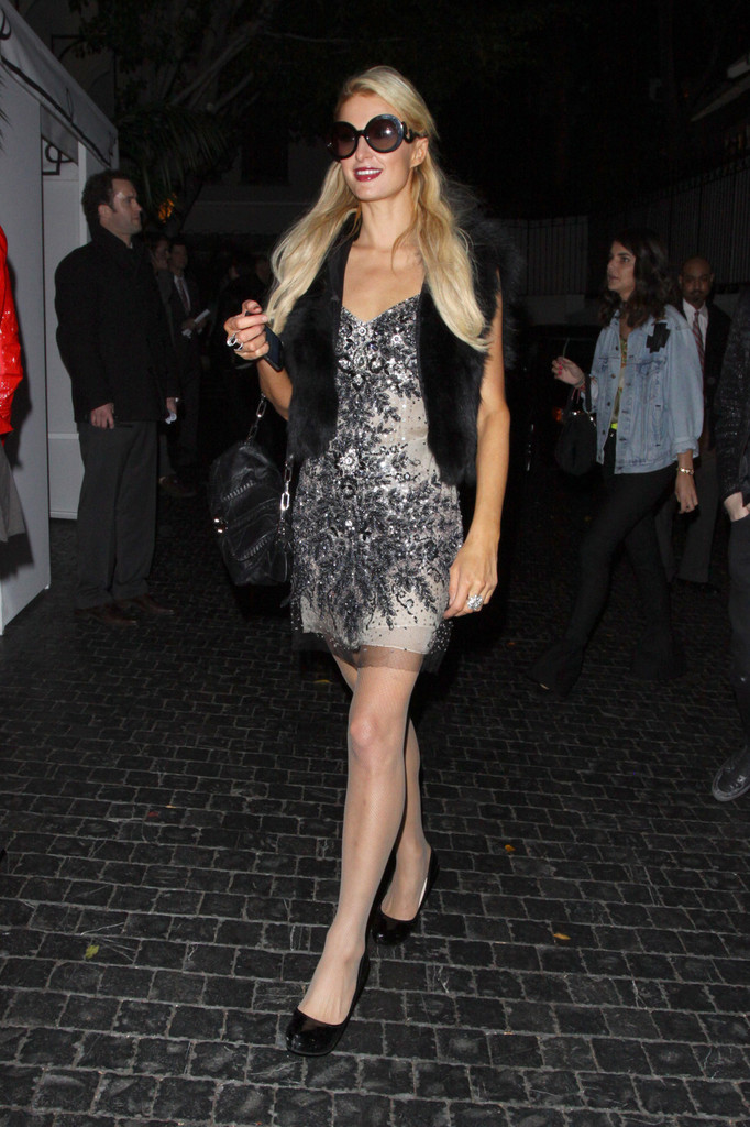 Paris Hilton in Paris and Nicky Hilton at Chateau Marmont ...