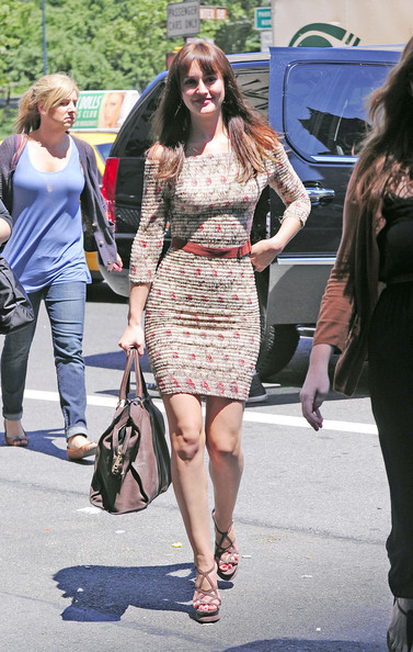 """Gossip Girl"" star Leighton Meester shows off her new look hair as she arrives at the Ritz-Carlton hotel in New York for new movie ""Monte Carlo"" press junket. The romantic comedy was produced by Nicole Kidman and features a song by star Selena Gomez and her band ""The Scene""."