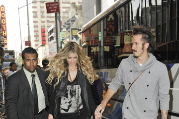 Griffin Guess Marisa Miller Leaves MTV Studios