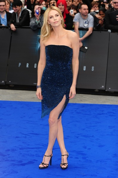 Charlize+Theron in Stars at the 'Prometheus' Premiere in London 4