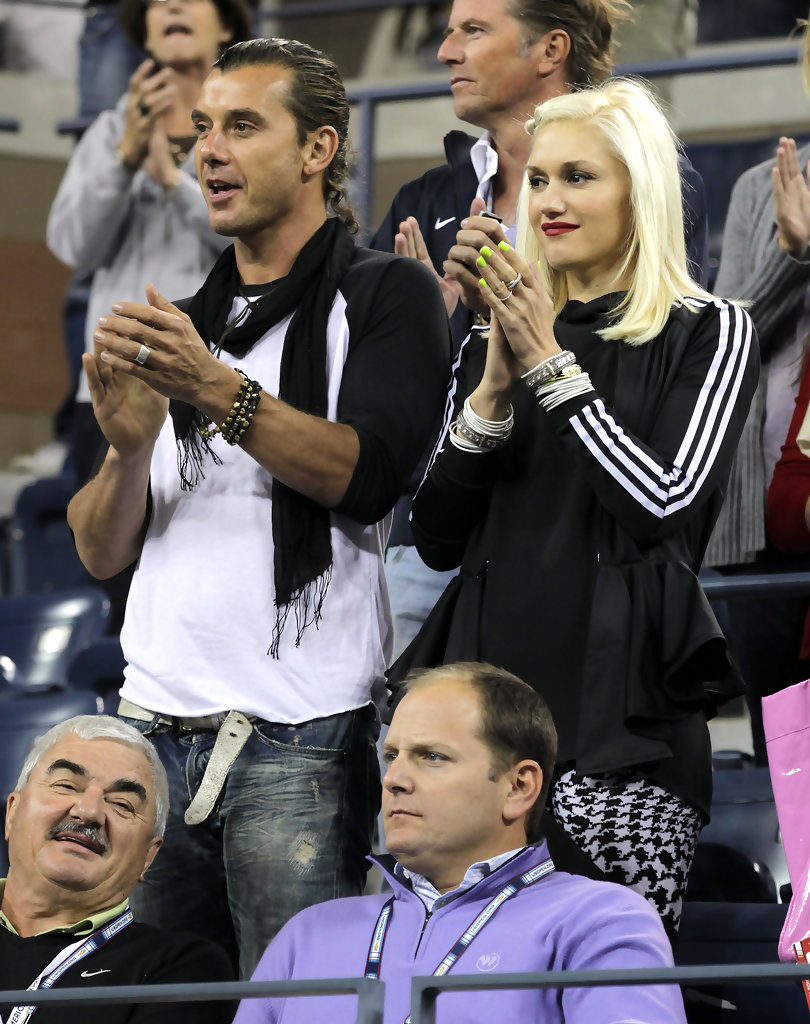 gavin rossdale in gwen stefani and gavin rossdale at the. Black Bedroom Furniture Sets. Home Design Ideas