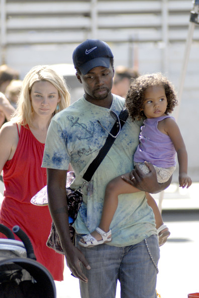 Harold Perrineau Harold and Brittany Perrineau take their youngest