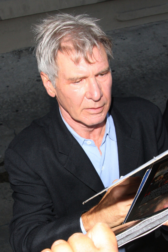 harrison ford in harrison ford at 39 jimmy kimmel live 39 zimbio. Cars Review. Best American Auto & Cars Review