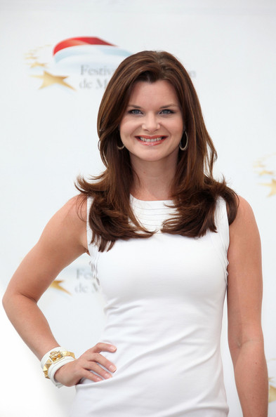 Heather Tom Heather Tom poses up during a photo call for