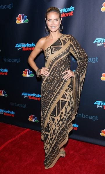 Heidi Klum - 'AGT' Stars Hit the Red Carpet in NYC — Part 2