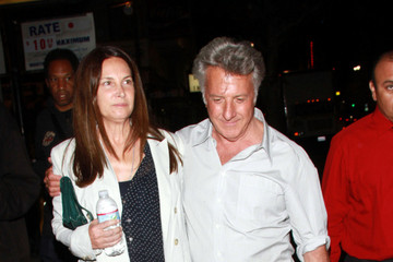 Dustin Hoffman Lisa Hoffman Dustin Hoffman and Wife at the Montalban Theatre