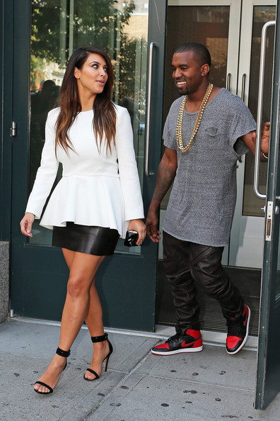 KimYe Out in Soho