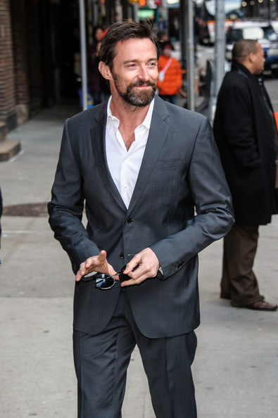 Hugh Jackman Dons a Tom Ford Suit to Spice Up His Love Life