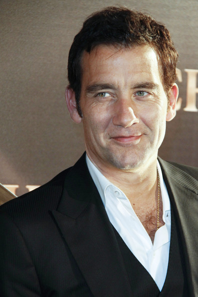Hunky actor Clive Owen attends the launch of Chivas Regal's new 12 whisky accompanied by model Eugenia Silva in Madrid.