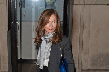 Isabelle huppert celebs at the giorgio armani show