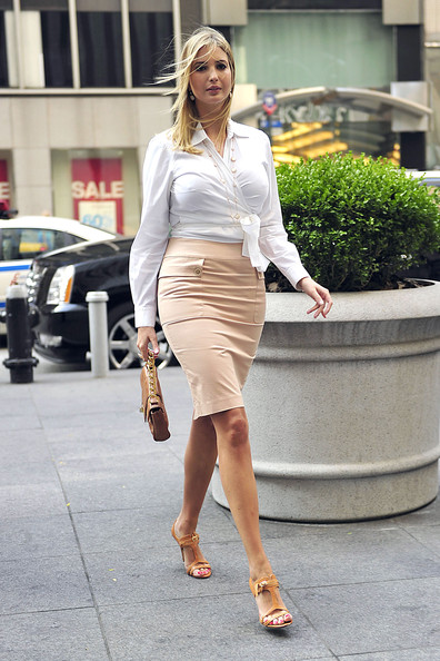 Ivanka Trump at the FOX Studios in Central Manhattan - Zimbio