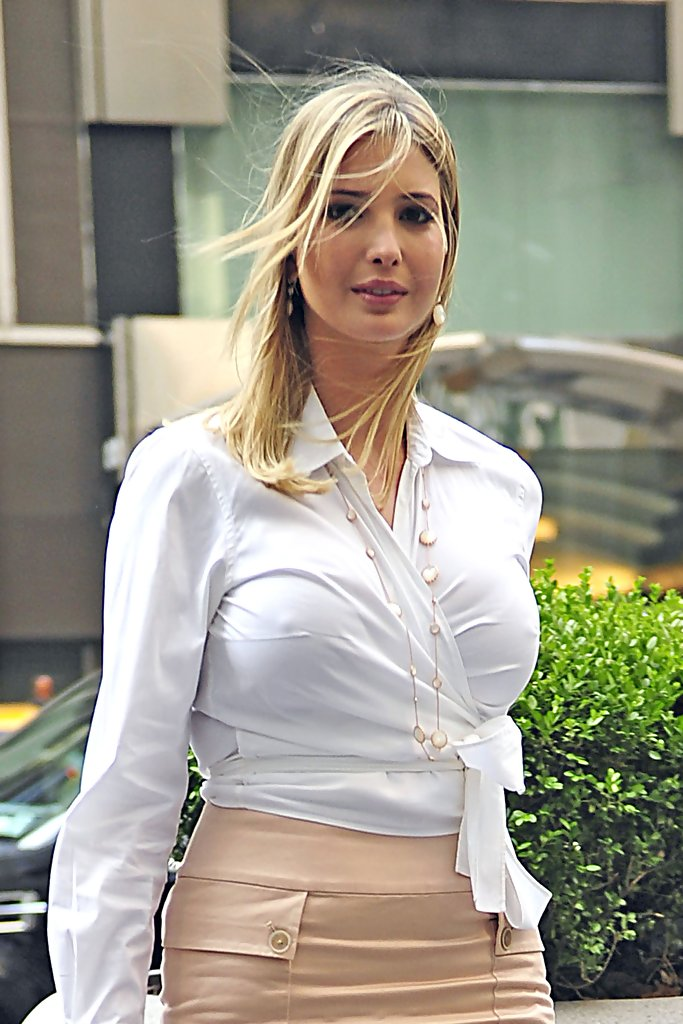 ivanka trump in ivanka trump at the fox studios in central