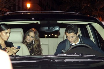 Izabel Goulart Irina Shayk and Izabel Goulart Leave the Vogue Party