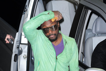 will.i.am Celebs Leave Fountain Studios