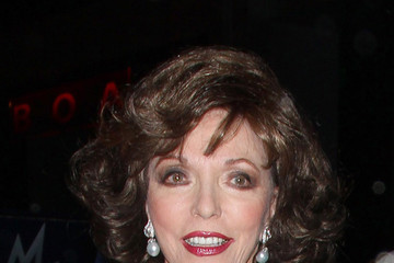 Joan Collins Jackie and Joan Collins at BOA Steakhouse