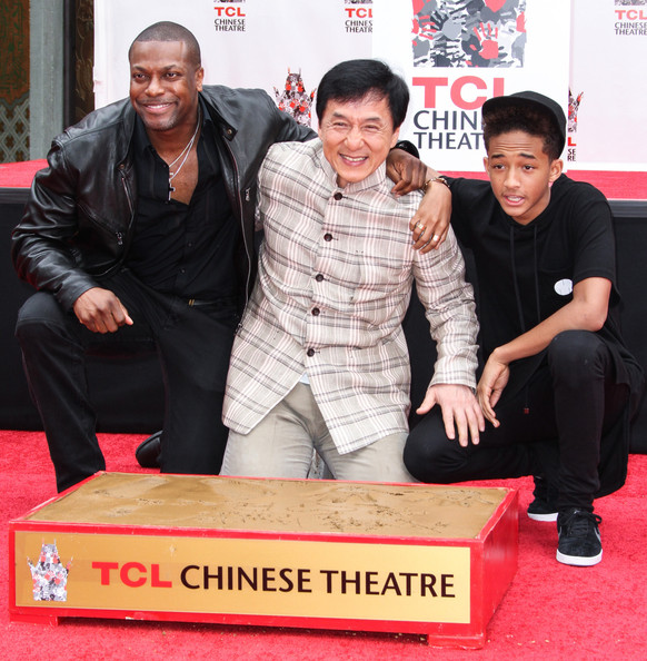 Jackie Chan's Hand and Footprint Ceremony []