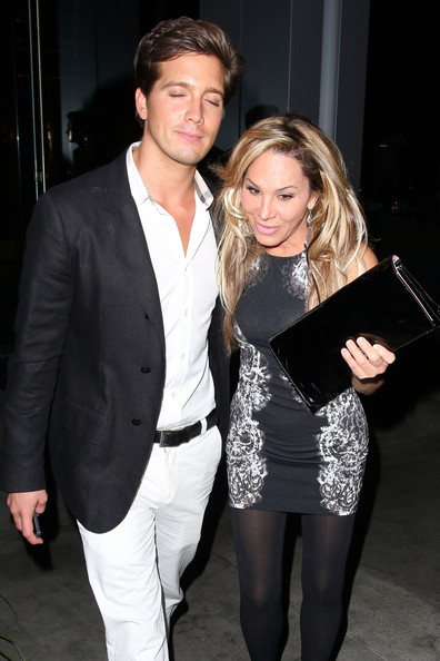 Jacob Busch Photos Photos - Adrienne Maloof Out Late with ...