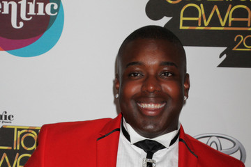 Jacob Lusk Daley on the red carpet for the 2012 Soul Train Awards in Las Vegas