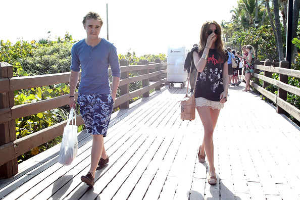 tom felton girlfriend. Tom Felton and Jade Olivia in
