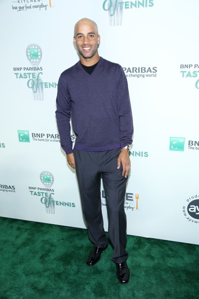 James Blake - Celebs at the BNP Paribas Taste of Tennis Event