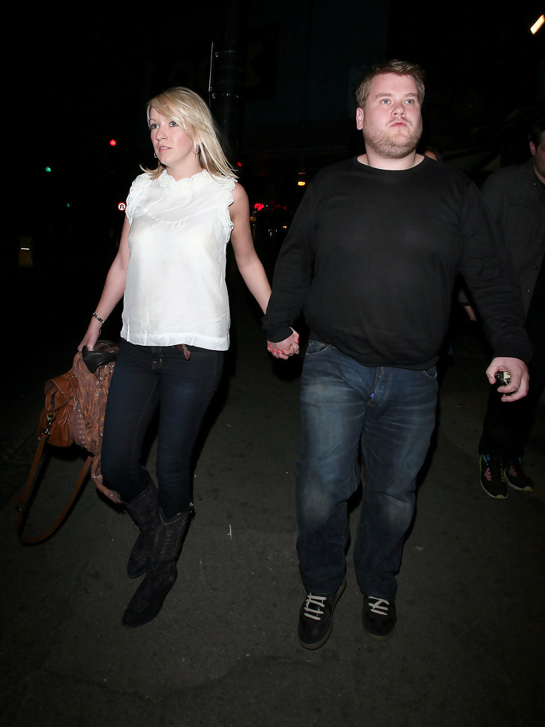 ... Pictures James Corden and Julia Carey Go to See Ricky Gervais Live