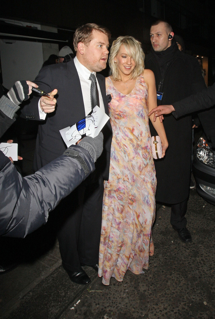 Julia Carey Photos James Corden And Others Leaving The Baftas Zimbio