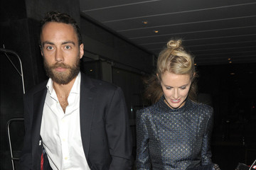 James Middleton Celebs Outside the Elle Magazine Party