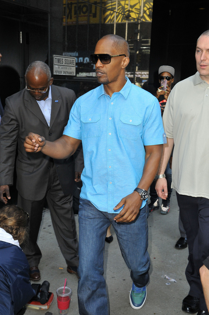 Jamie Foxx - Jamie Foxx Visits 'Good Morning America'