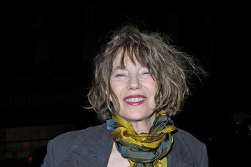 Jane Birkin Arrivals at the Hermes Fashion Show